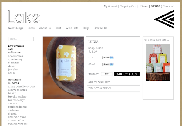 lb product details page